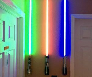 Lightsaber Wall Mounts – Perfect for displaying your lightsaber collection
