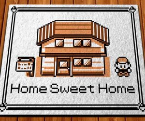 Pokemon Home Sweet Home Doormat – Nothing says home like rolling into Pallet Town