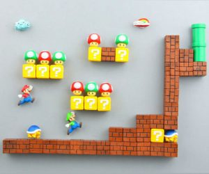 Super Mario Fridge Magnets!