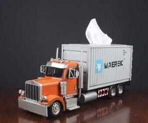 Cargo Truck Tissue Box!