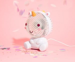 Unicorn USB Fan – What's better than a conventional fan? Elodie Unicorn fan! We're really putting the fun in function with our Elodie Unicorn. Featuring Elodie's kawaii face and whimsical, 3D