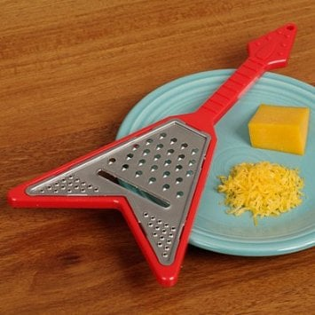 guitar cheese grater