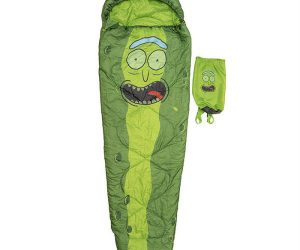 Pickle Rick Sleeping Bag – Slide in, zip up now you're Pickle Rick!