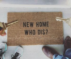New Home Who Dis? Doormat – New home who dis? doormat makes an amazing housewarming gift to that friend or family member with an amazing sense of humor.