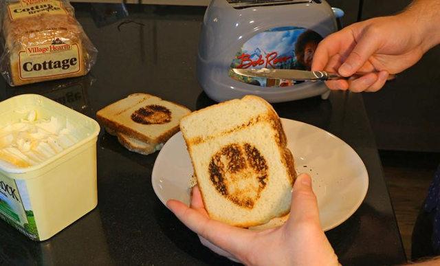 bob ross toaster