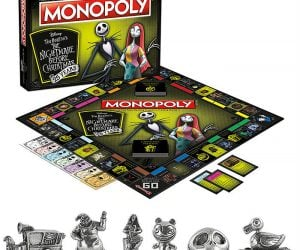 Nightmare Before Christmas Monopoly – Get a metacarpal grip on six metal tokens sculpted after unforgettable characters and subtle symbols from the film, such as Jack's Skull, Evil Teddy, Sally, Oogie