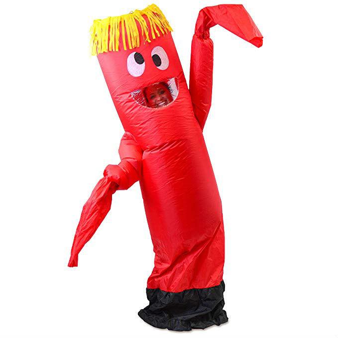 wacky waving inflatable tubeman halloween costume
