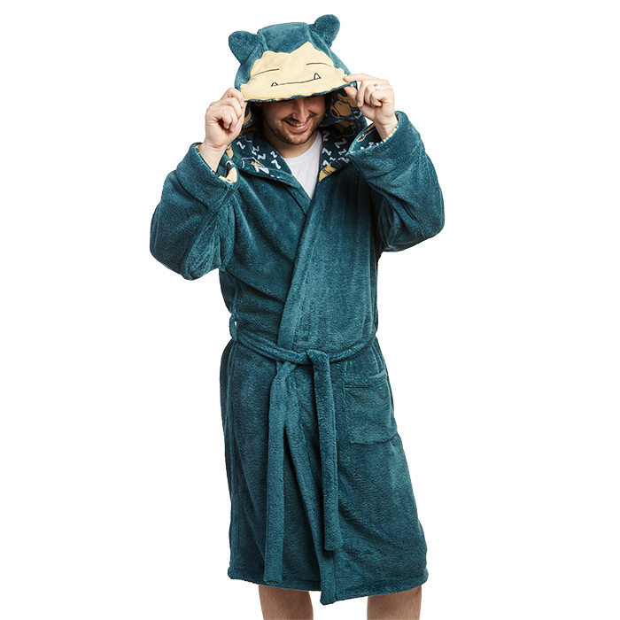 Pokémon Snorlax Plush Reversible Robe