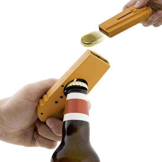 The Bottle Cap Launcher