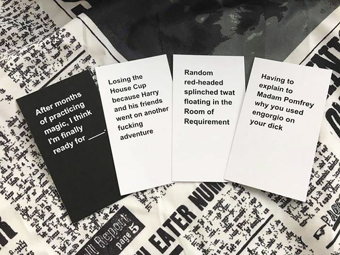 cards against wizardry