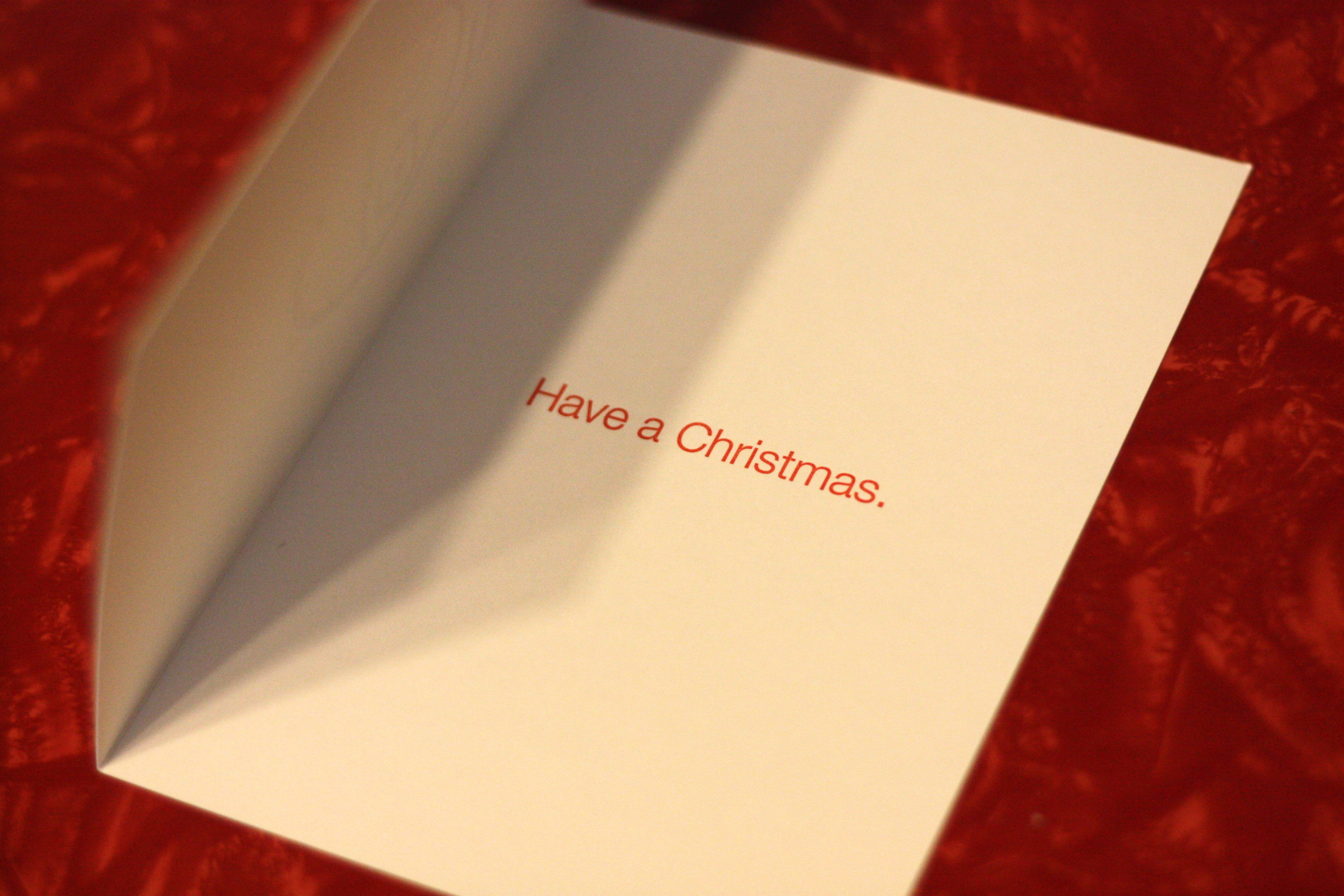 Have A Christmas - Pack of 6 Cards
