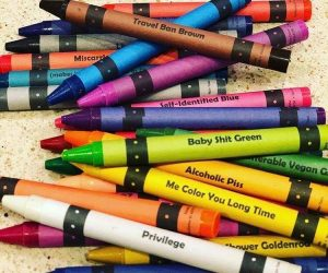 If your favorite pastime is being offended, get ready for hours of fun with Offensive Crayons.