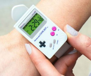 Nintendo Gameboy Wrist Watch – Featuring the striking Game Boy design with a gray strap and digital display, take this watch out on your next adventure and always know what time