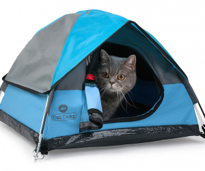 Cat Camp is the world's first specialized tent maker for cats! We've hand-crafted and designed our awesome tents to be as cute, comfortable and functional as possible.