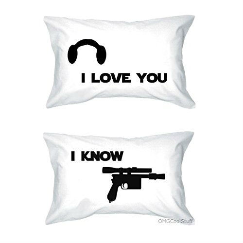 i love you i know pillow case