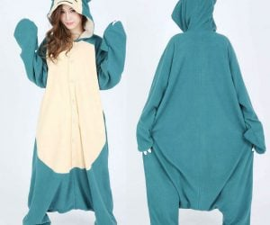 Snorlax Kigurumi Pajamas – Perfect for sleeping, napping, and all related non-activities. Always put off until tomorrow what you can get done today.