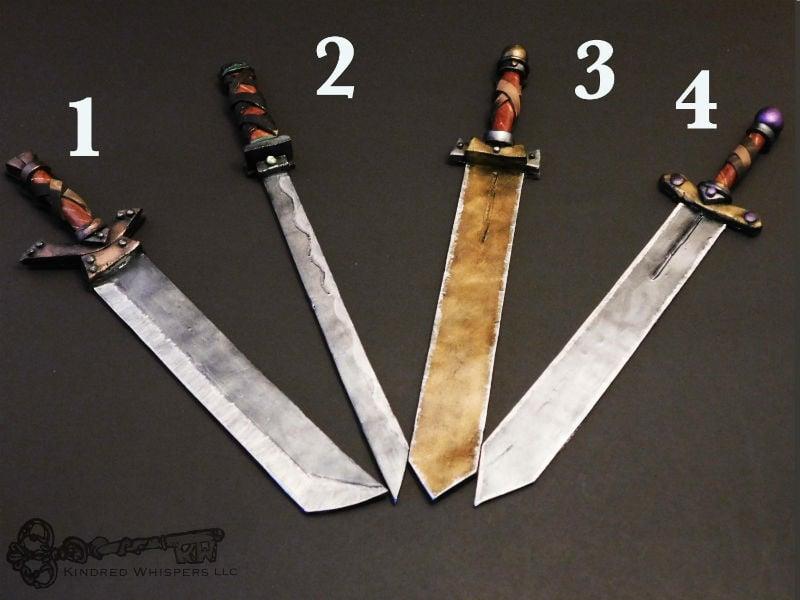 sword book marks