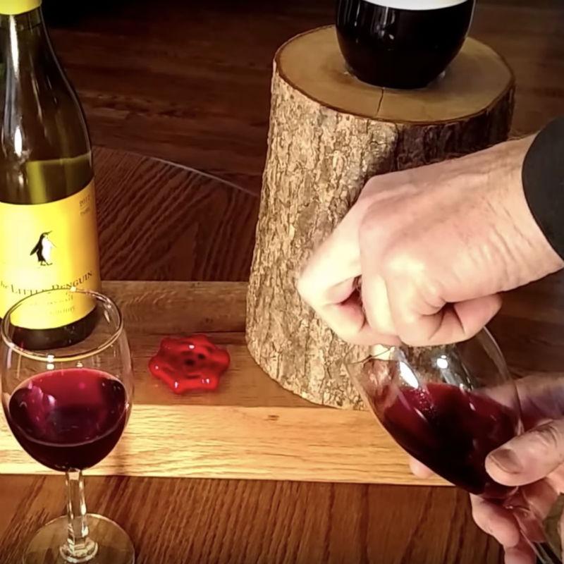 liquor log dispenser