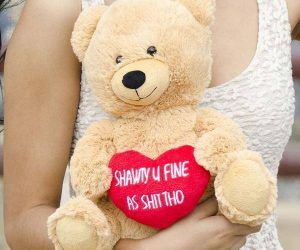 Hollarbear Shawty U Fine Plush Bear – This bear was born to holla, measuring in at 10″ tall this bear is the perfect size for snuggling up with wherever you