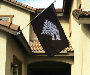 Game of Thrones House Stark Banner Flag! – Show off your GoT pride with this 3 foot by 5 foot House Stark flag!
