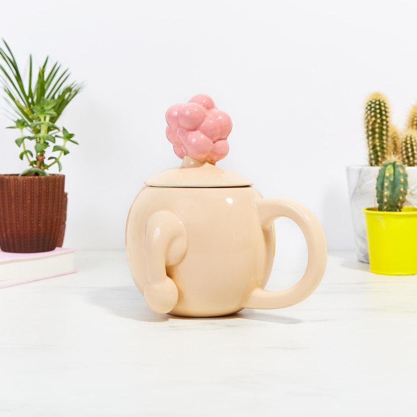 rick and morty plumbus mug