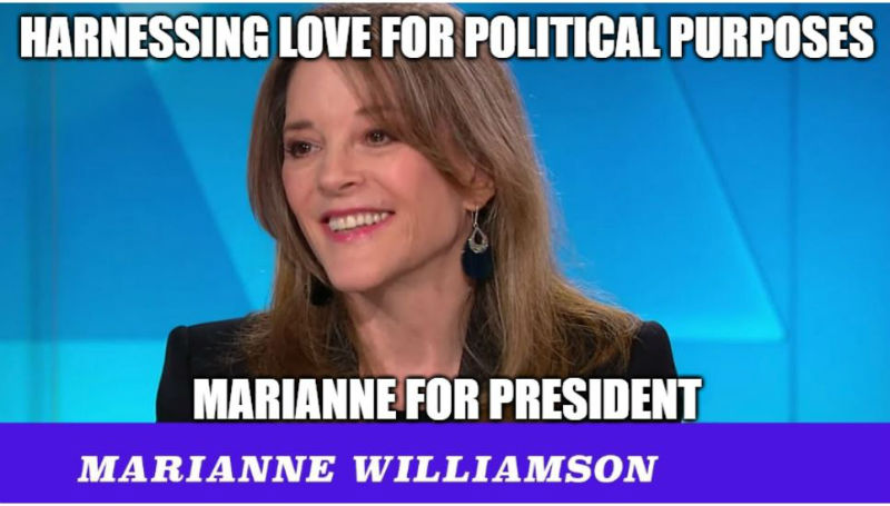 marianne williamson memes
