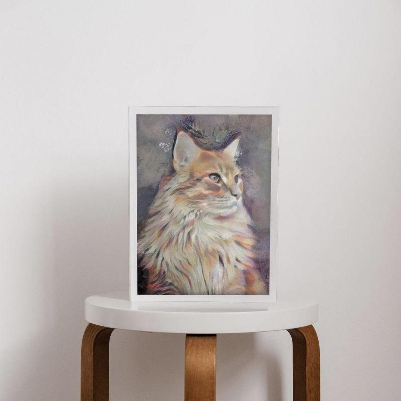 custom ai pet artwork