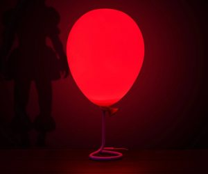 The Pennywise Balloon Lamp is perfect for attracting creepy clowns. Just turn it on and relax knowing that an evil ancient clown is watching you.