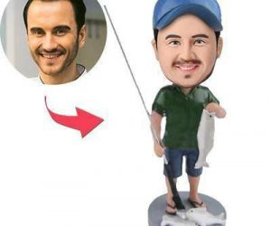 Ever wanted to relive that perfect catch over and over again? Well now you can with a Personalized Fishing Buddi Bobble head. The guys over at fishing buddi will take