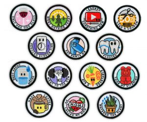 Adult Merit Badges – Adulting is hard. Someone should make iron-on merit badge patches to celebrate everyday adulting achievements. Oh wait. We did!