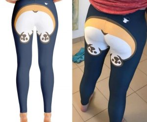 Corgi Butt Leggings – These leggings are an absolute must-have for all you corgi lovers out there.