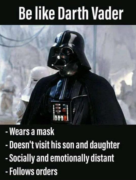 Darth Vader Corona