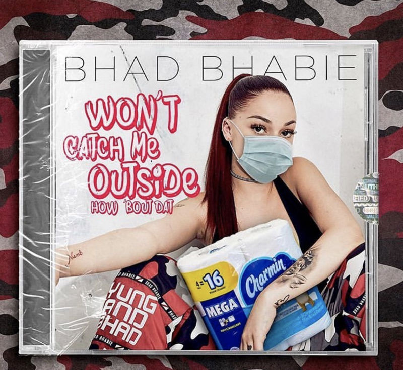 bhad bhabie wont catch me outside
