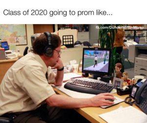 Class Of 2020 Going To Prom Like… – The Office Coronavirus Meme