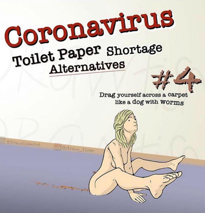 coronavirus toilet paper alternatives