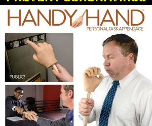 Prevent the spread of Corona Virus with the handy hand person task appendage!