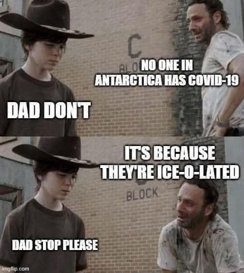 no one in Antarctica has covid 19