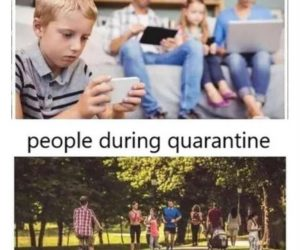 People Normally Vs People During Quarantine Meme