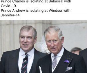 Prince Charles Covid 19 Coronavirus Meme – Prince Charles is isolating with Jennifer-14