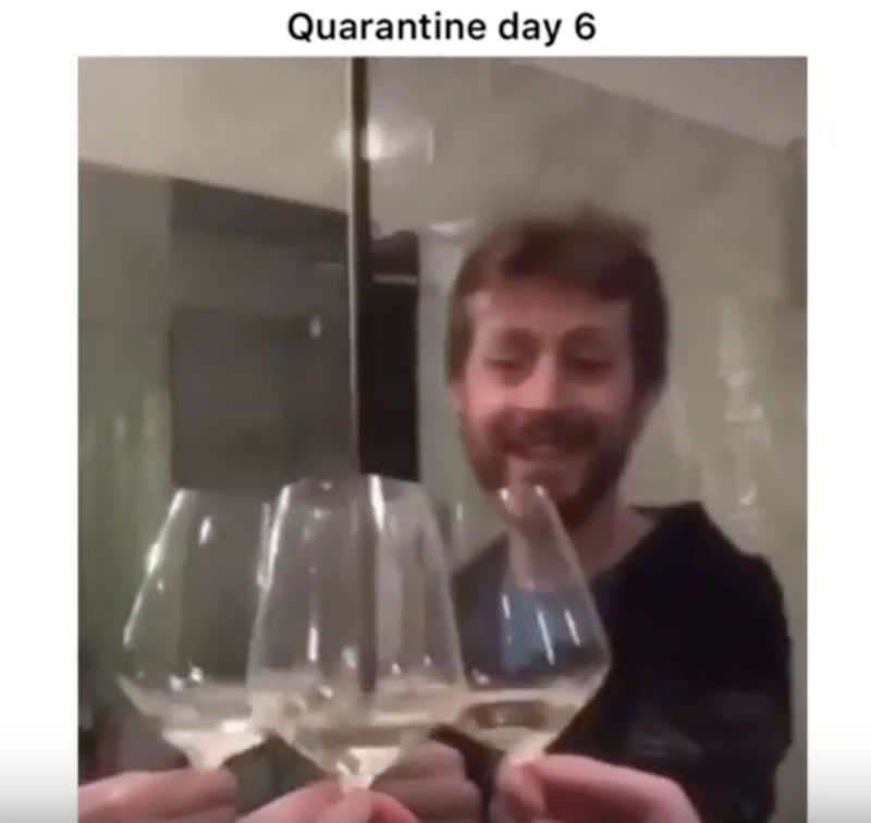 Quarantine Day 6 Wine Edition - Italy Coronavirus Meme ...