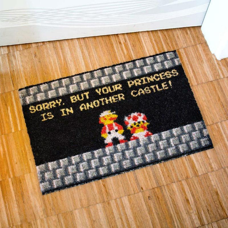 your princess is in another castle doormat