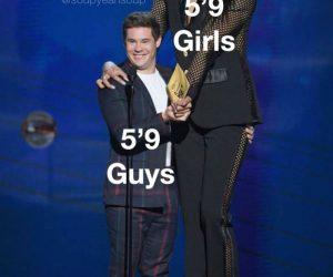 5′ 9″ Guys Vs 5′ 9″ Girls – Meme
