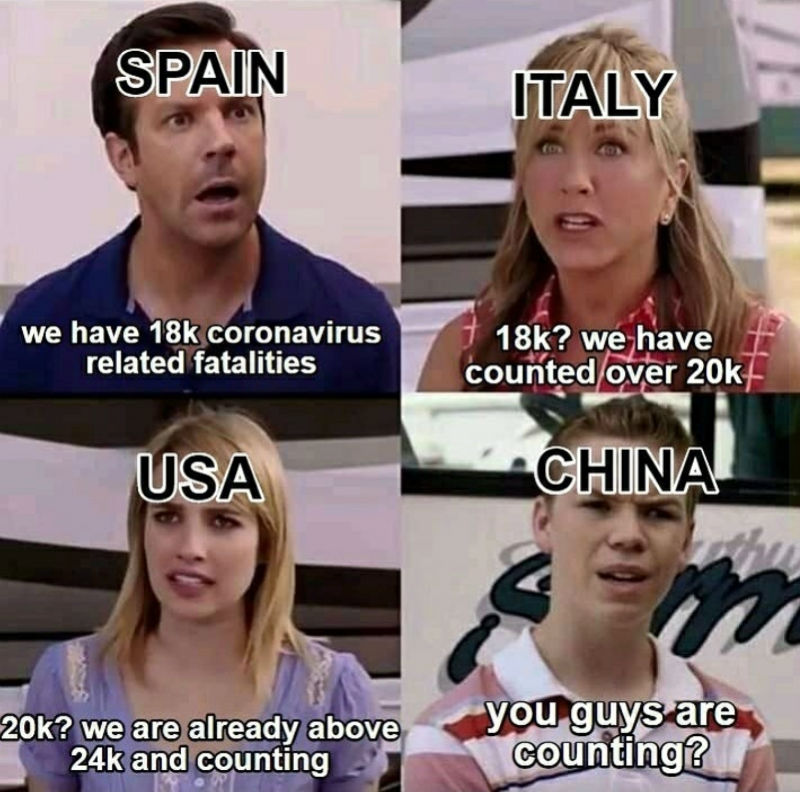 china you guys are counting meme