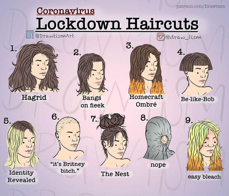 9 Coronavirus Lockdown Haircuts For Ladies