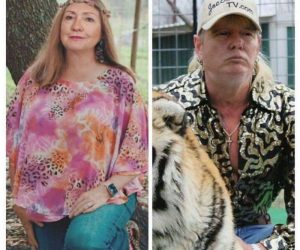 Hillary Clinton Carole Baskin Donald Trump Joe Exotic – Tiger King Meme