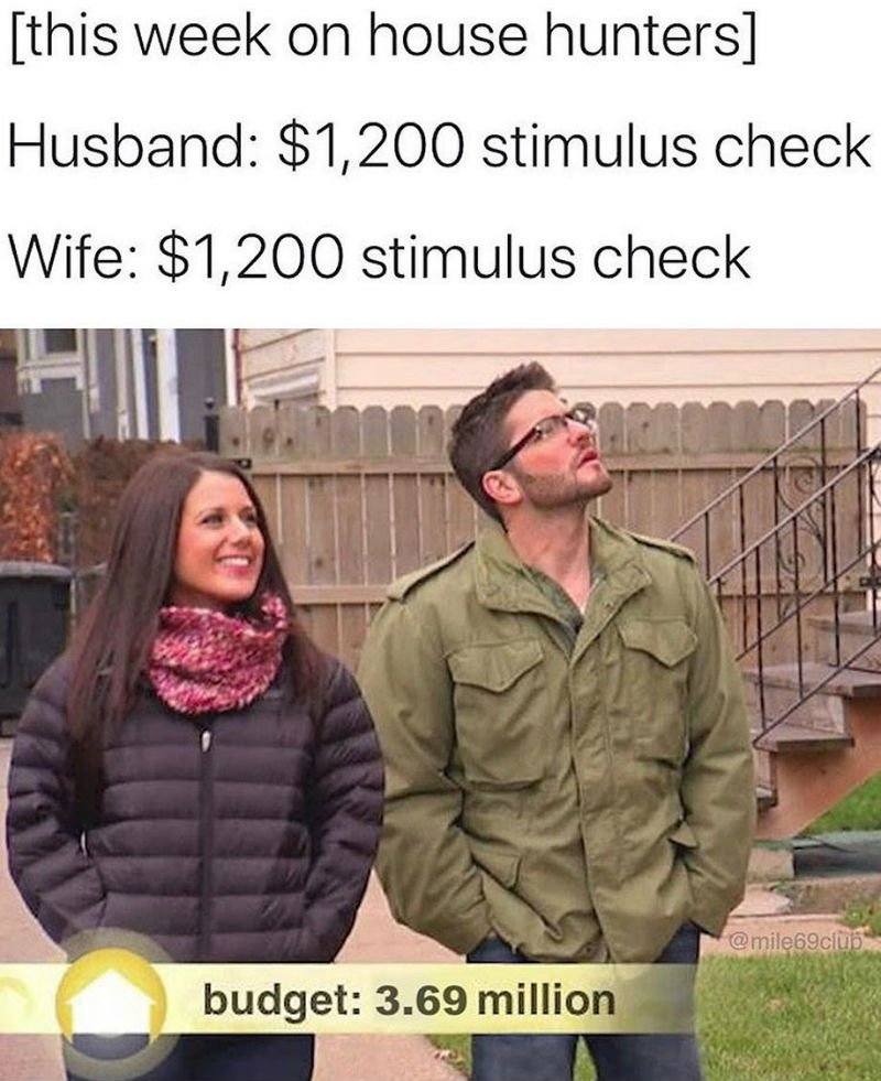 house hunters stimulus check edition