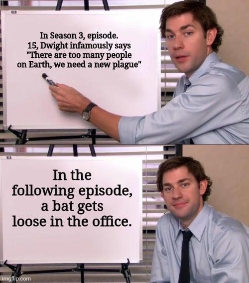 in season 3 dwight says