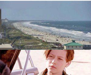 Jacksonville Florida Beach 26 Minutes After Reopening – Coronavirus Meme