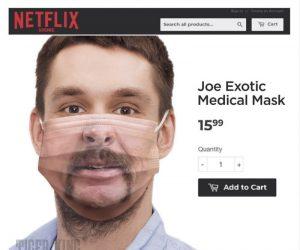 Joe Exotic Tiger King Medical Face Mask