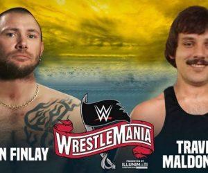 John Finlay Travis Maldonado Wrestlemania – Tiger King Meme
